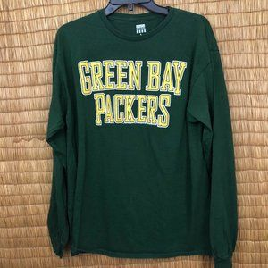 Junk Food Size Large Green Bay Packers 100% Cotton